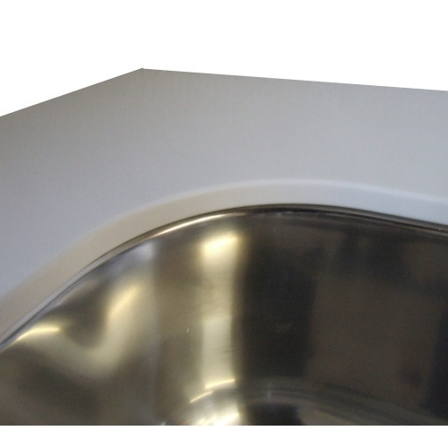 Vask inkl. montering i corian bordplade. blanco claron-if/n. 540 x
