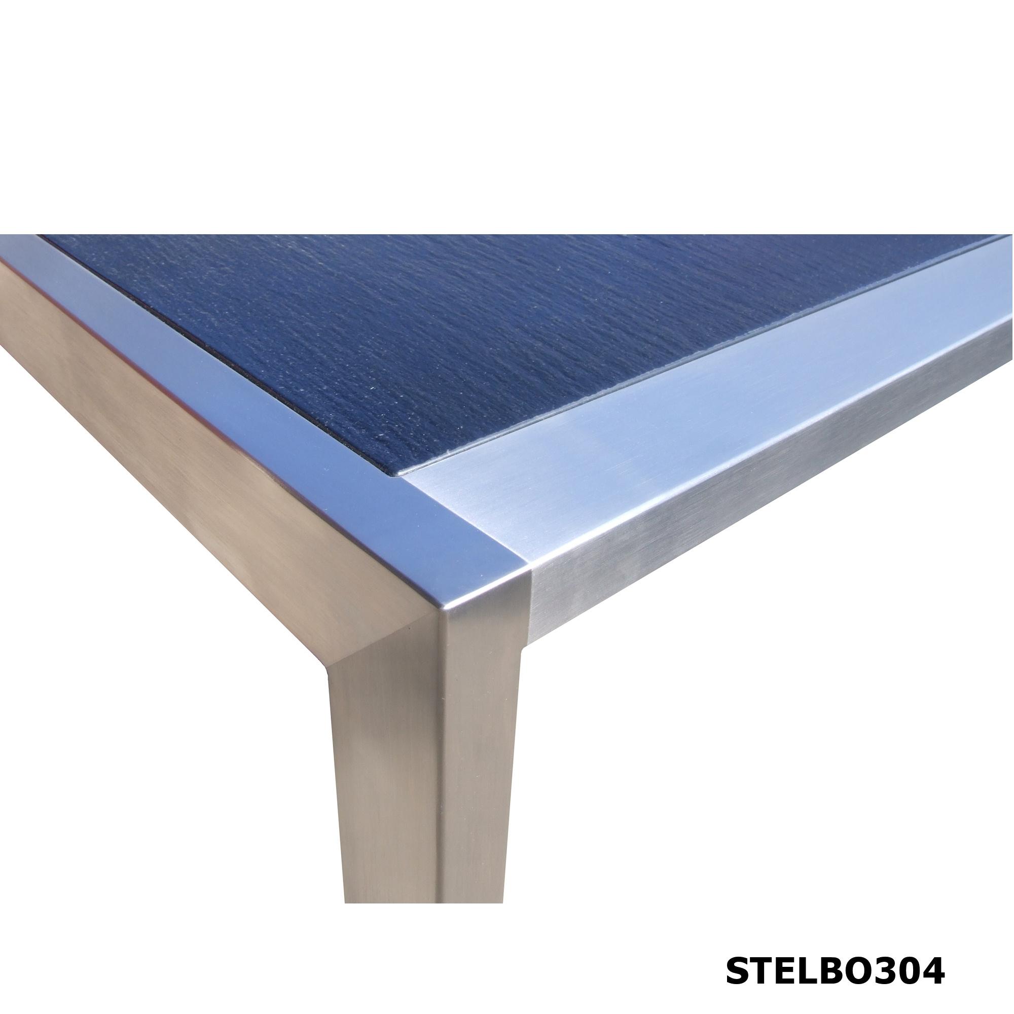 Skifer sofabord model STELBO304 med indvendig bordplade