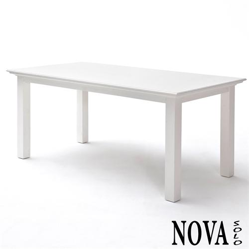 T759 160cm hvidt mahogni spisebord fra novasolo